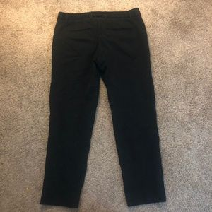GAP Slim Cropped Black Pants Size 4 Regulars